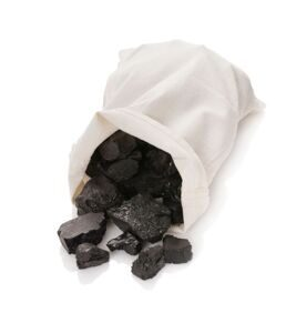 Coal in a bag